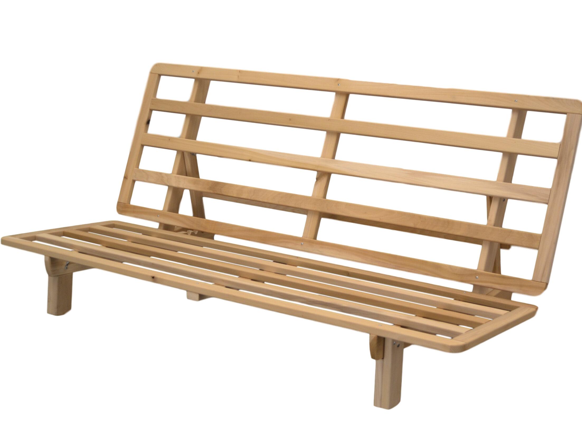 tewkesbury bifold futon frame futon frames you u0027ll love   wayfair  rh   wayfair