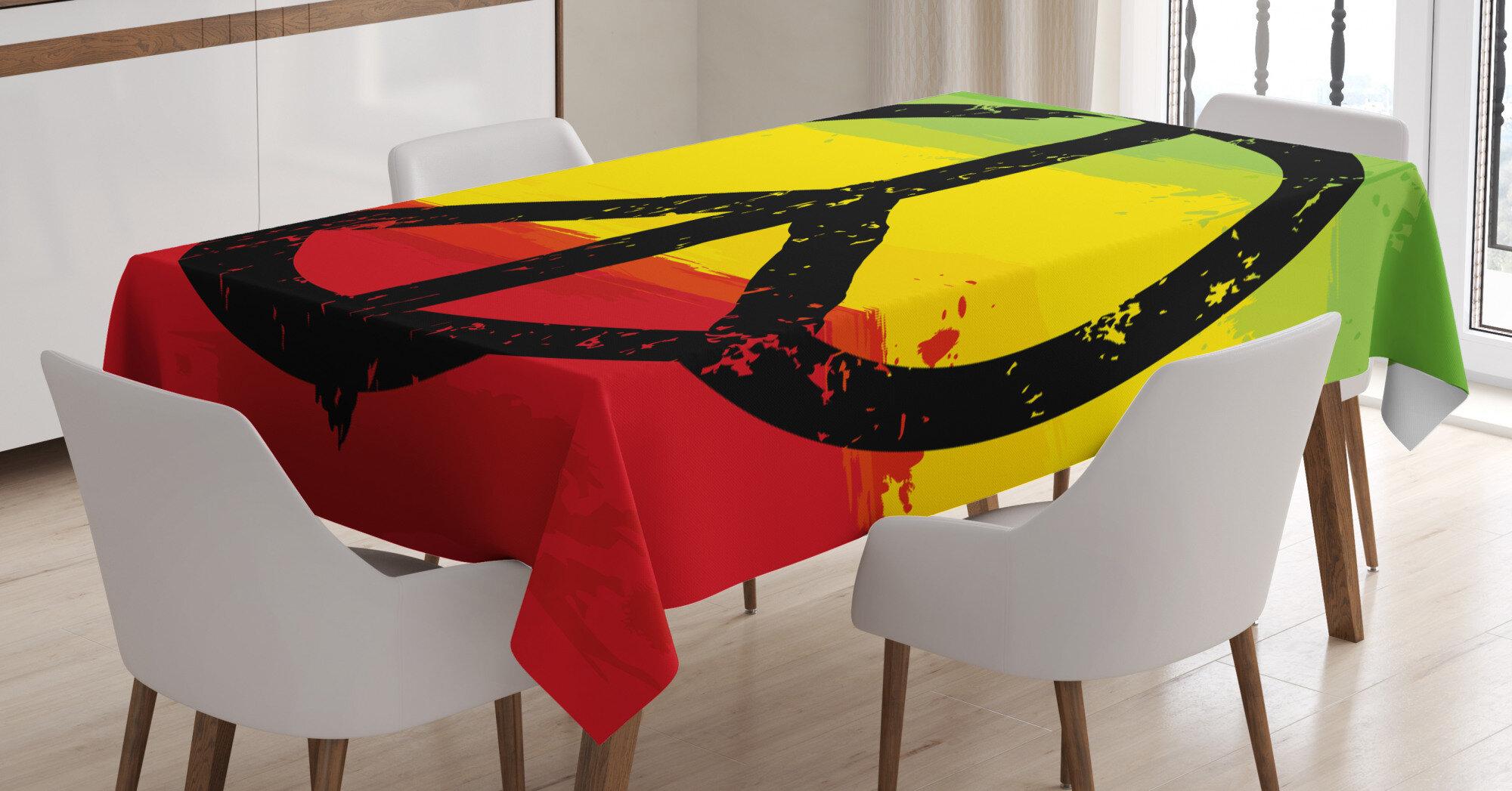 East Urban Home Rasta Tablecloth Wayfair