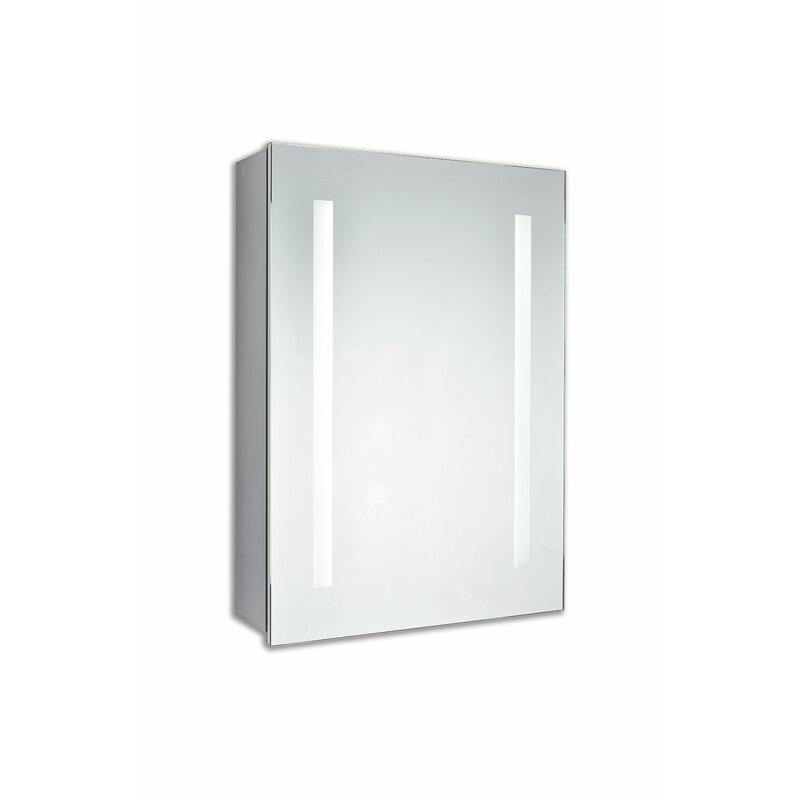 Corby Surface Mount Frameless Medicine Cabinet With Led Lighting Reviews Allmodern