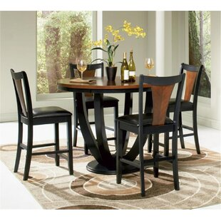 Rhem 5 Piece Counter Height Dining Set World Menagerie