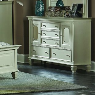 Willa Arlo Interiors Regency 5 Drawer Standa..
