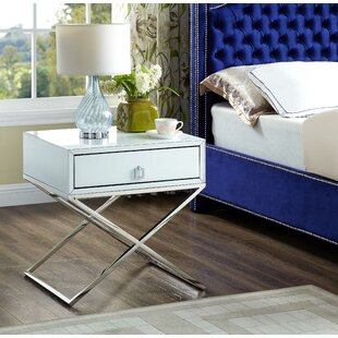 Affordable Price Katondra 1 Drawer Nightstand by Everly Quinn