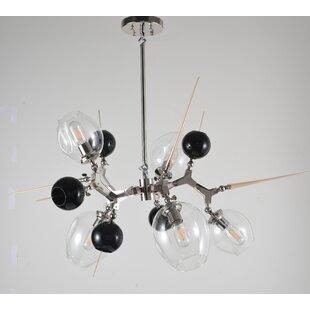 Brayden Studio Hollywood 5-Light Sputnik Chandelier