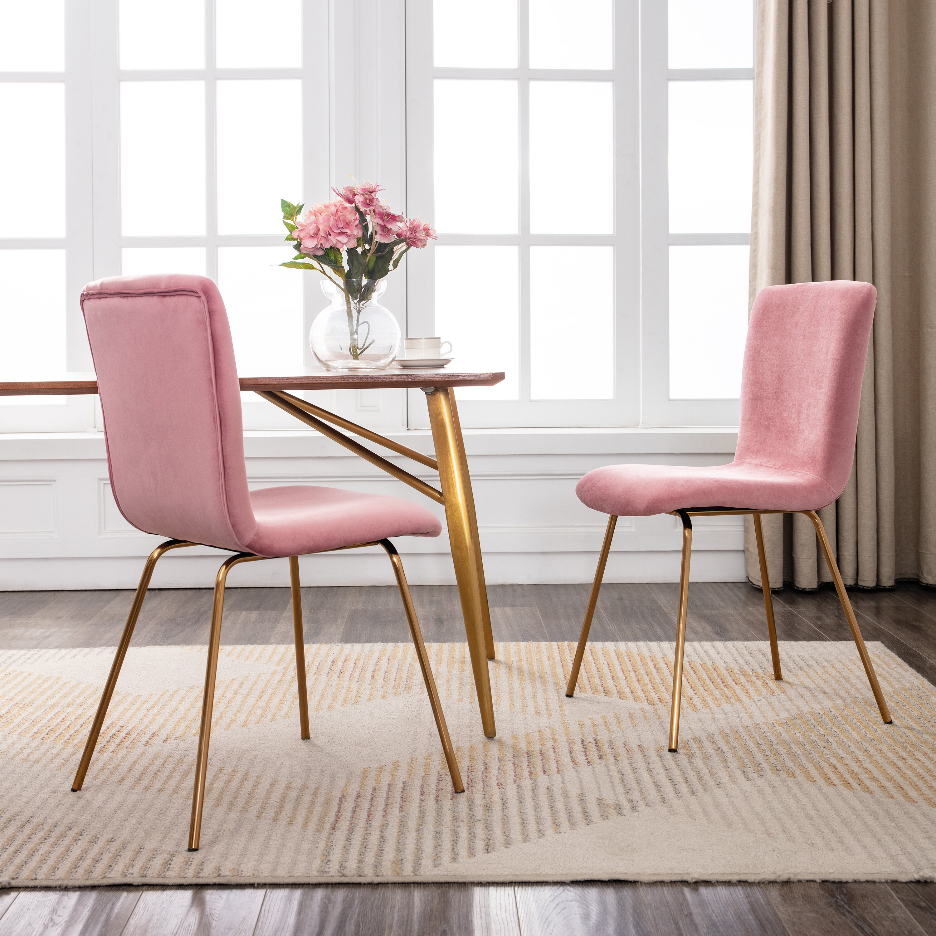 Picture of: Pink Kitchen Dining Chairs You Ll Love In 2020 Wayfair