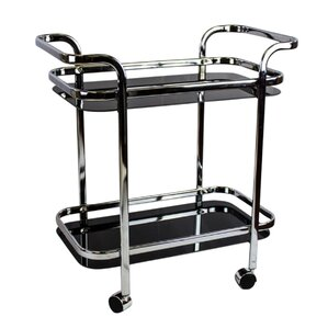 2 Tier Bar Cart by Sagebrook Home