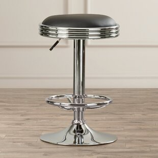 Latitude Run Dora Adjustable Height Swivel Bar Stool