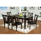 Higley 7 Piece Dining Set by Red Barrel Studio®