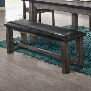 Loon Peak Calliope Faux Leather Bench