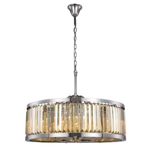Askerby 10-Light Drum Chandelier by Everly Quinn