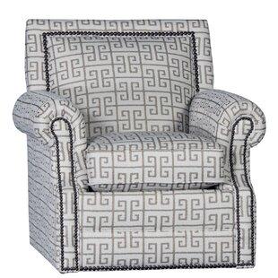 Bloomsbury Market Huckabee Swivel Armchair