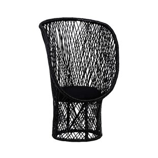 Bungalow Rose Westerman Rattan Balloon Chair