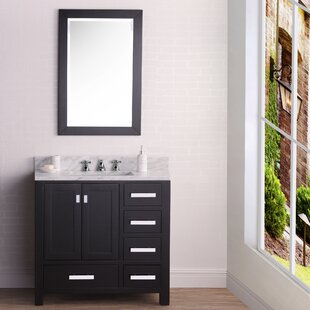 Clifford 36 Single Bathroom Vanity Set with Mirror By Ebern Designs