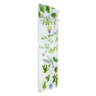 Herbs And Flowers Wall Mounted Coat Rack By Symple Stuff