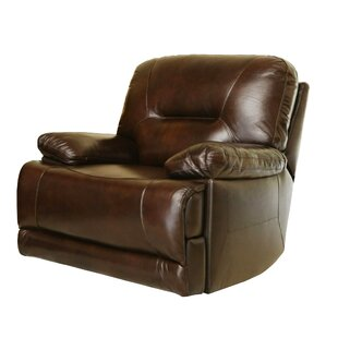 Darby Home Co Bartlet Leather Power Recliner