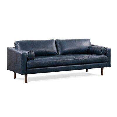 Turquoise Leather Sofa Wayfair