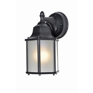 Charlton Home Millbank Side Door Outdoor Wall Lantern