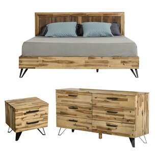 Rashida Light Wood Configurable Bedroom Set by Union Rustic Best Choices