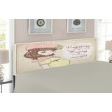 Quotes Queen Upholstered Panel Headboard by East Urban Home