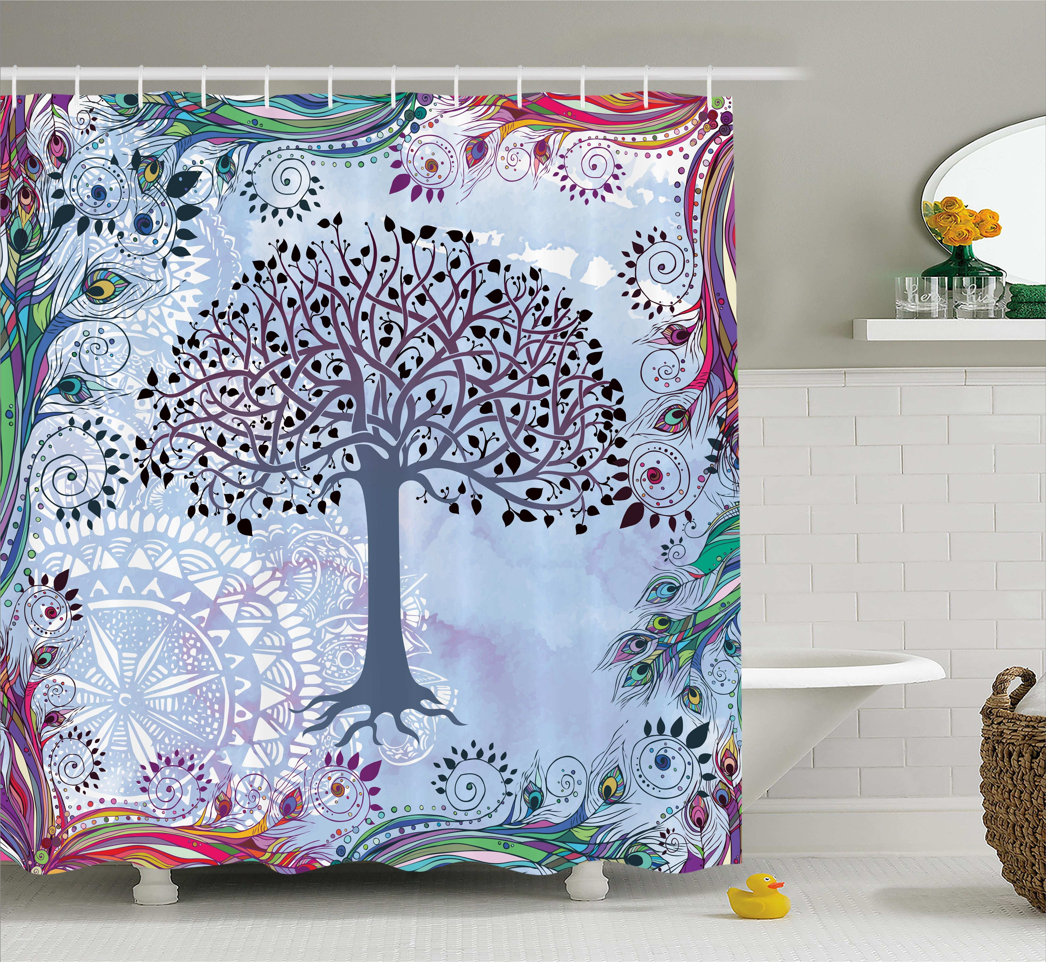 Bloomsbury Market Ayana Vintage Tree Of Life Shower Curtain