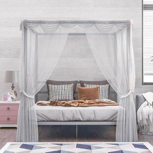 Bevard Queen Canopy Bed
