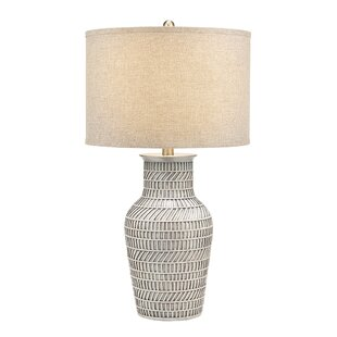 Collis Textured Gourd 33 Table Lamp