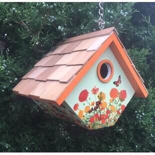 Home Bazaar 8.25 in x 6.5 in x 6.5 in Birdhouse