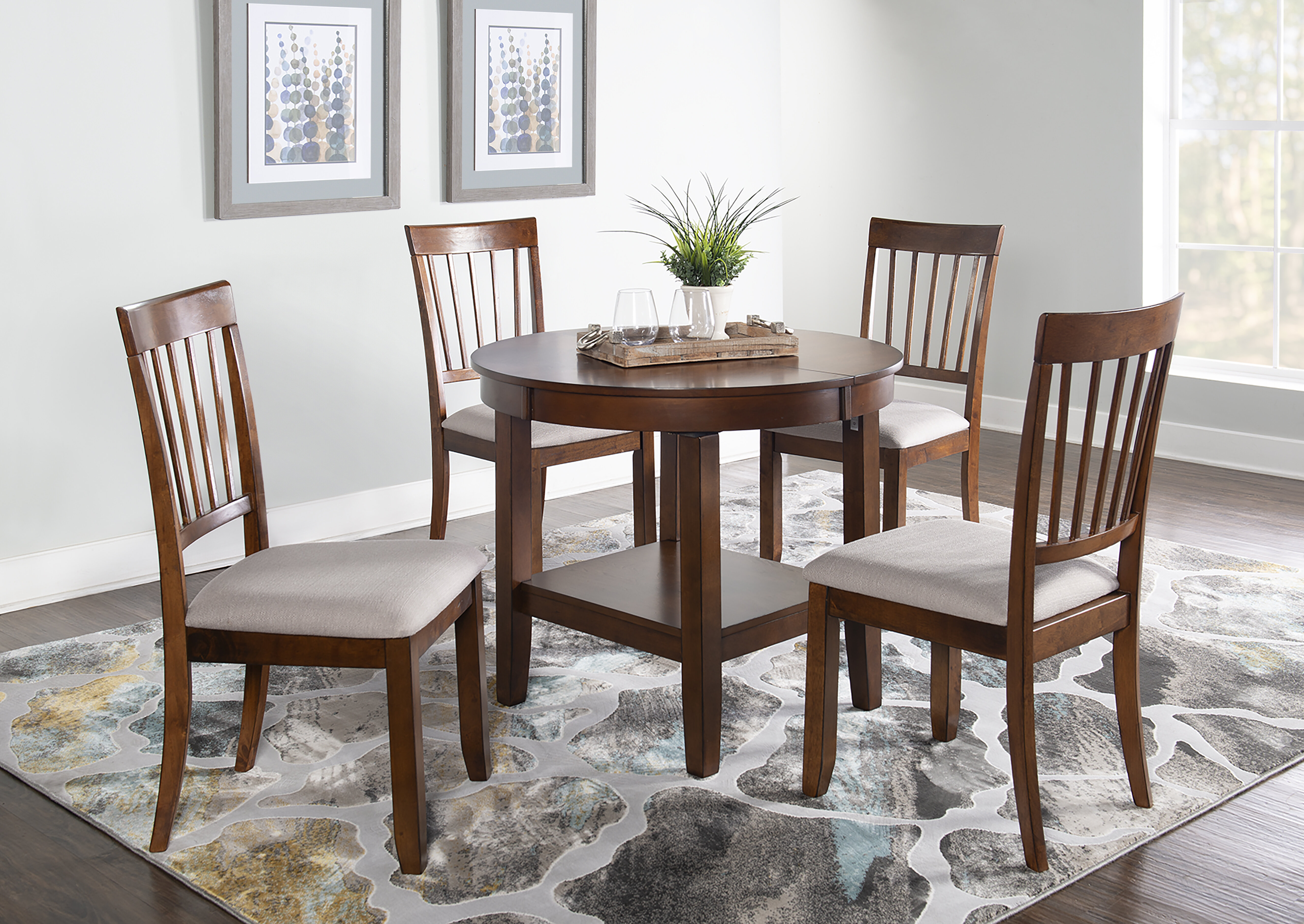 Silver Dining Table And Chairs, Red Barrel Studio Drumraw 5 Piece Drop Leaf Dining Set Reviews Wayfair