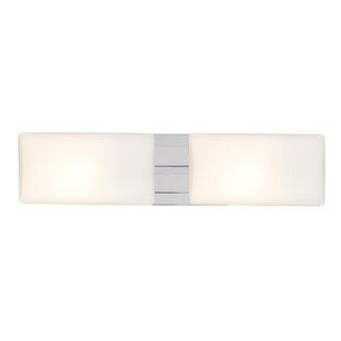 Aubree 2-Light LED Bath Bar by Latitude Run