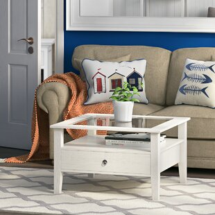 Swansea Coffee Table With Magazine Rack By Breakwater Bay