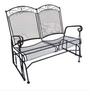 Charleston Wrought Iron Garden Bench by DC America