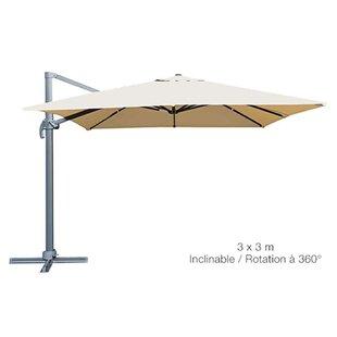 3m Square Traditional Parasol Image