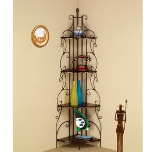Fleur De Lis Living Clemmons Corner Unit Bookcase
