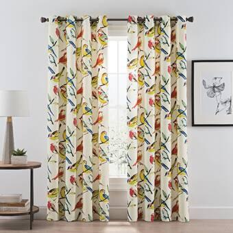 Latitude Run Asis Solid Color Room Darkening Grommet Single Curtain Panel Wayfair