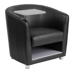 Skyee Leather Guest Chair by Latitude Run
