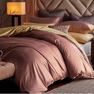 Alwyn Home Gilley 100% Cotton 3 Piece Reversible Duvet Set