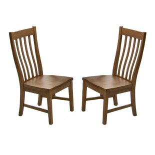 Prado Slat Back Side Chair (Set of 2) Union Rustic