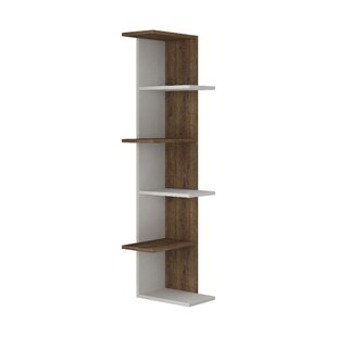 Corner Bookcase By Symple Stuff