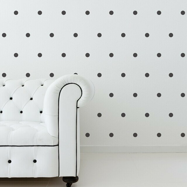 Urban Walls Small Polka Dots Wall Decal Reviews Wayfair