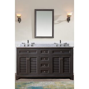 Mathais 60 Double Bathroom Vanity Set by Gracie Oaks