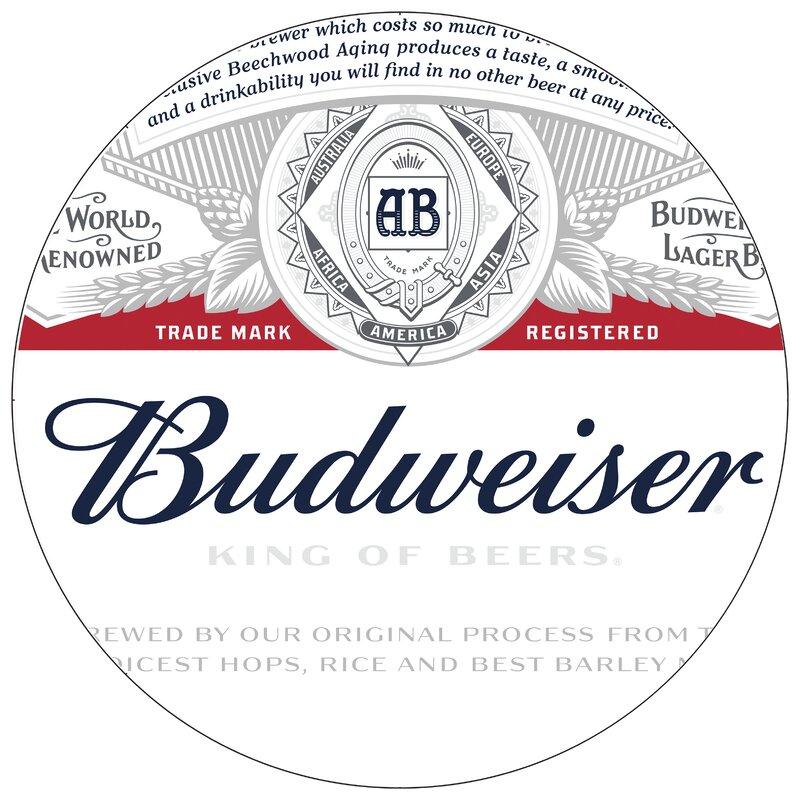 Trademark global budweiser pub table wayfair budweiser pub table watchthetrailerfo