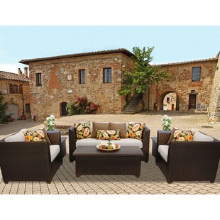 Medley 7 Piece Sofa Seating Group with Cushions