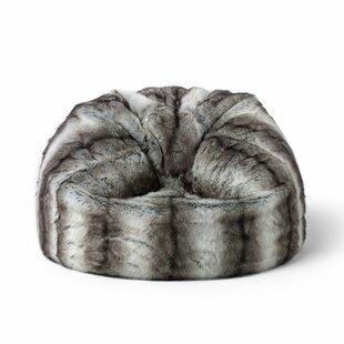 Kids Faux Fur Bean Bag Chair By Rosdorf Park