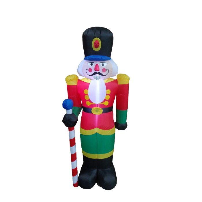 Christmas Inflatable Part - 30: Nutcracker Christmas Inflatable