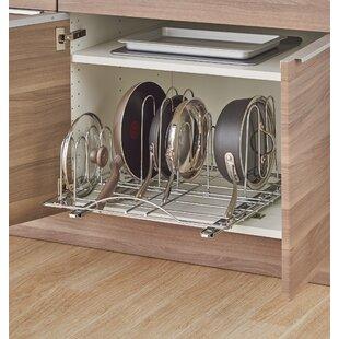 Attirant Sliding Pot Organizer Pull Out Kitchenware Divider