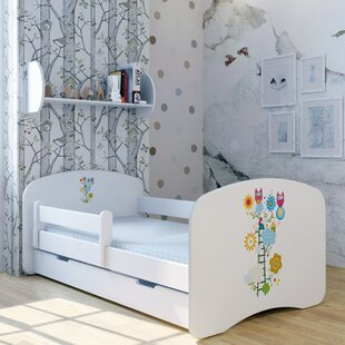 Green Ladder Bed With Mattress And Drawer By Zoomie Kids