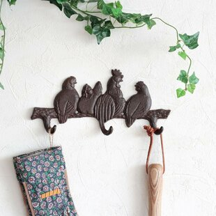 Roslyn Wall Mounted Coat Rack By Brambly Cottage