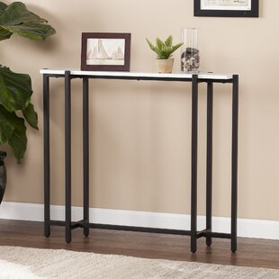 Merveilleux Jeske Contemporary Narrow Console Table
