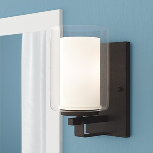 Mercury Row Bensenville 1-Light Drum/Cylinder Bath Sconce