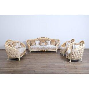 Maxime 3 Piece Living Room Set by Astoria Grand