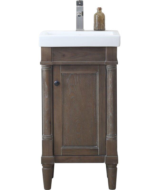 Gracie Oaks Malena 18 Single Sink
